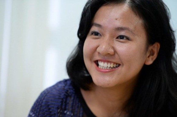 Le Diep Kieu Trang, the new director of Facebook Vietnam (Photo: tuoitre.vn)