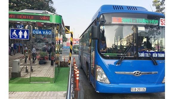 Ben Thanh bus station