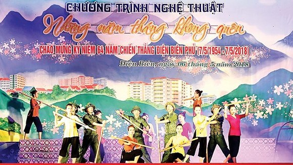 A special art performance marking the 64th anniversary of Dien Bien Phu Victory