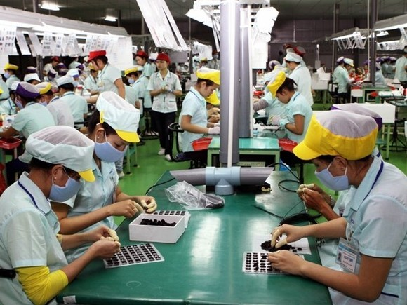 The action month for labour safety and hygiene was launched in Ho Chi Minh City on May 6 (Illustrative image. Source: VNA)