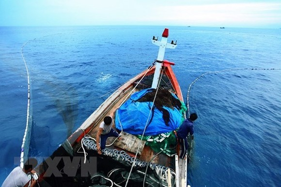 A fishing boat of Vietnam (Photo: VNA)