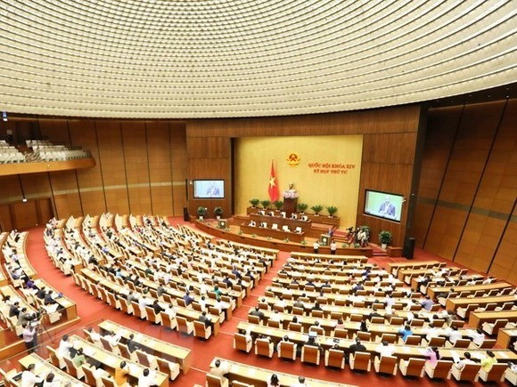 An overview of the 4th session of the 14th Natinal Assembly (Photo: VNA)