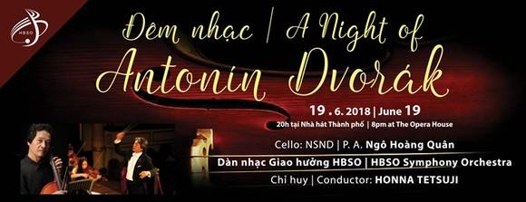 Concert on Czech composer Antonin Dvorak held in HCMC