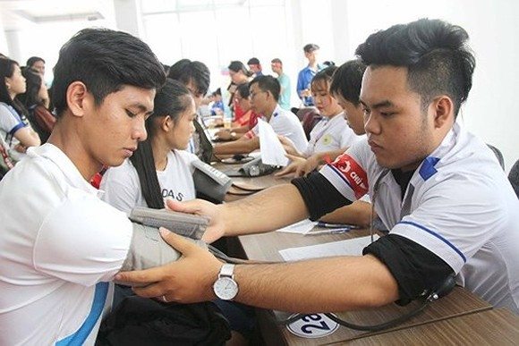 HCMC's blood donor day collects 1,500 blood units