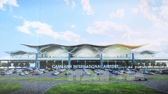 The new international terminal T2 of Cam Ranh International Airport in the central province of Khanh Hoa. (Photo: VNA)