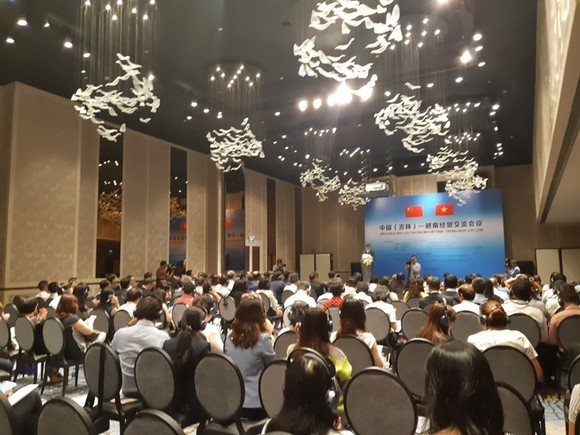 At the Vietnam-China Trade Forum (Photo: hochiminhcity.gov.vn)