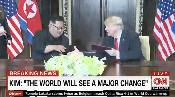 """Lãnh đạo Mỹ - Triều Tiên đã ký văn kiện """"rất quan trọng và toàn diện"""" ảnh 7"""