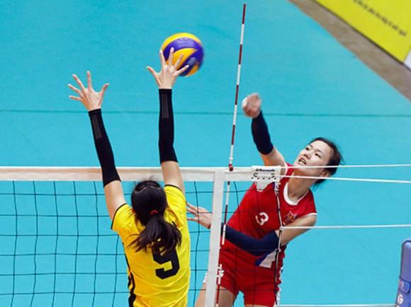 Vòng loại giải bóng chuyền nữ VĐTG 2018 khu vực châu Á: Ngọc Hoa tái ngộ Jong Jin Sim ảnh 1