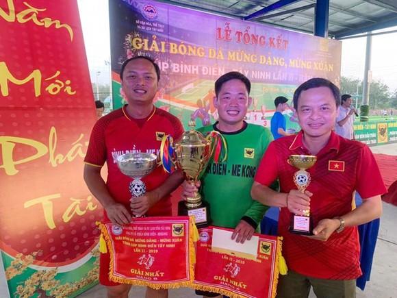 Cúp bóng đá Bình Điền Tây Ninh lần 2-2019: Báo Sài Gòn Giải Phóng đoạt Cúp đồng ảnh 3