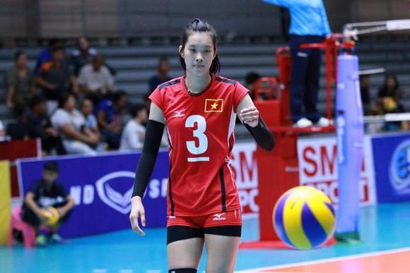 Chủ công Trần Thị Thanh Thuý góp công lớn trong chiến thắng 3-0 của U.23 Việt Nam trước đội bóng Triều Tiên.