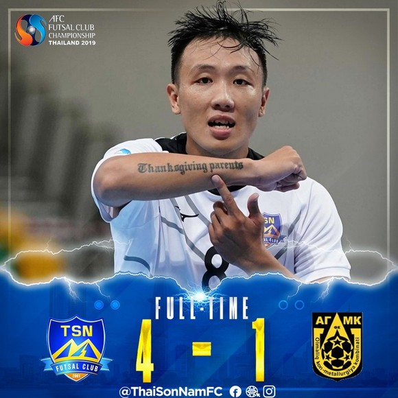 AFC gởi thư chúc mừng CLB Thái Sơn Nam ảnh 1