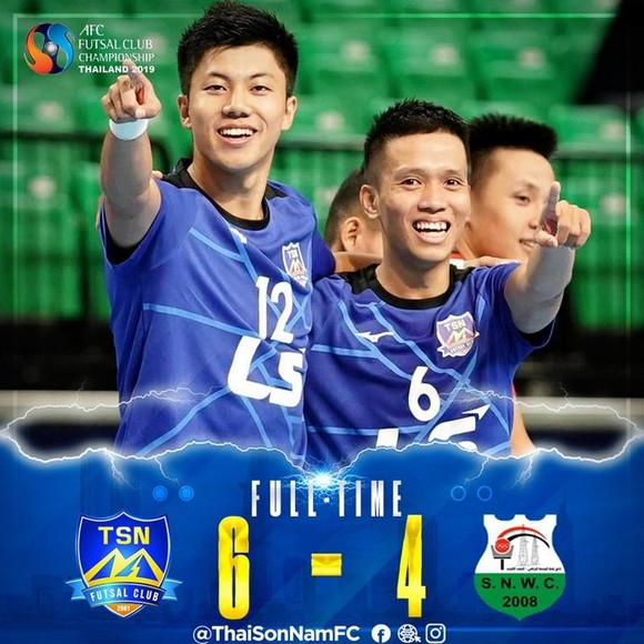 AFC gởi thư chúc mừng CLB Thái Sơn Nam ảnh 3