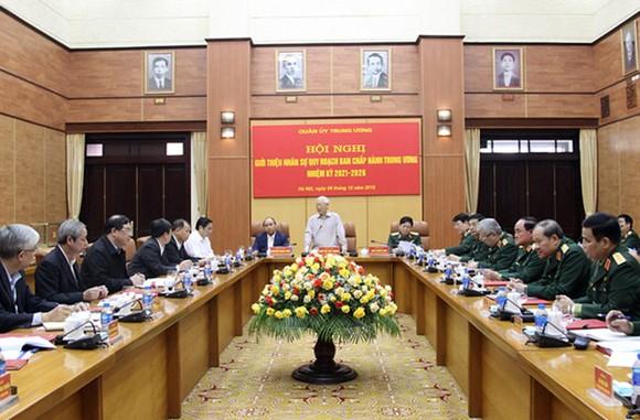 Quân ủy Trung ương giới thiệu nhân sự quân đội tham gia Ban Chấp hành Trung ương nhiệm kỳ 2021-2026 ảnh 1