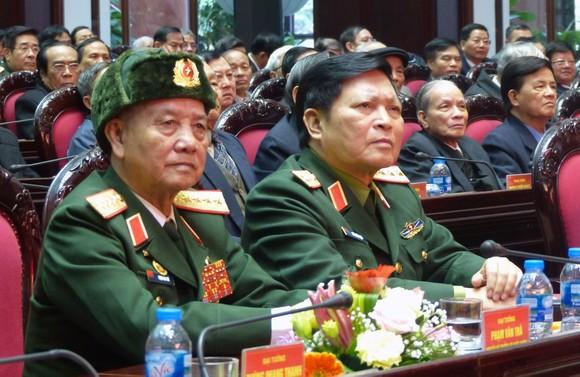 Gặp mặt cán bộ cao cấp quân đội nghỉ hưu, nghỉ công tác khu vực phía Bắc ảnh 2