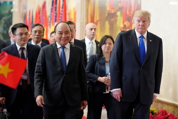 Thủ tướng Nguyễn Xuân Phúc hội kiến Tổng thống Donald Trump ảnh 5