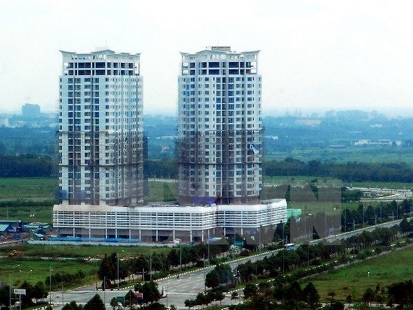 The market segment for offices and retail space for lease in Hanoi has seen stable rental prices for grade A and B office buildings in the third quarter of the year. (Photo:VNA)