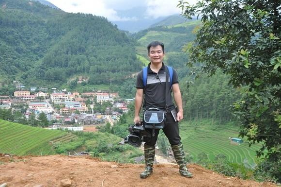 Late VNA's reporter Dinh Huu Du (Source: VNA)