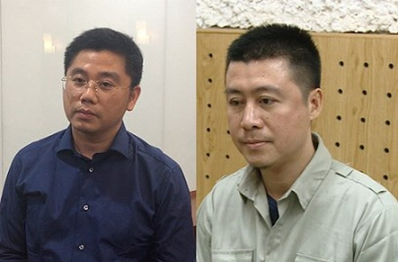 Phan Sao Nam (R) and Nguyen Van Duong are accused of being the masterminds behind the ring (Photo: Ministry of Public Security)