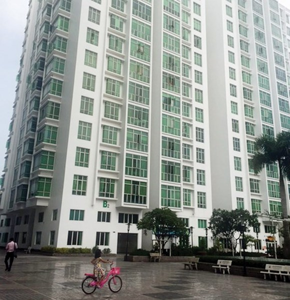 A social housing condo in District 7, Ho Chi Minh City (photo: SGGP)