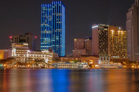 HCMC leads in attracting foreign investment (Photo: Han Huynh)