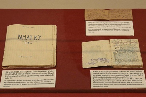 Looking to the past: Wartime letters and diaries depict the hardships of the war and people's strong will to gain liberation.(Source:VNA)