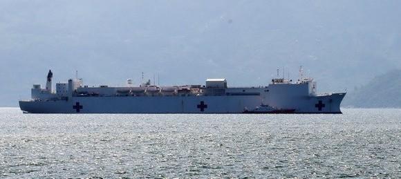 US Navy's hospital ship USNS Mercy (Source: VNA)