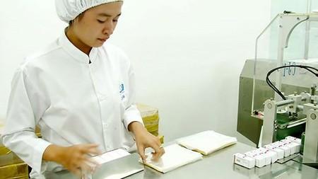 Medicine production in a domestic plant