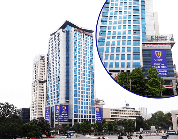 The new vaccination centre at 243A De La Thanh street in Hanoi (Photo: vnvc.vn)