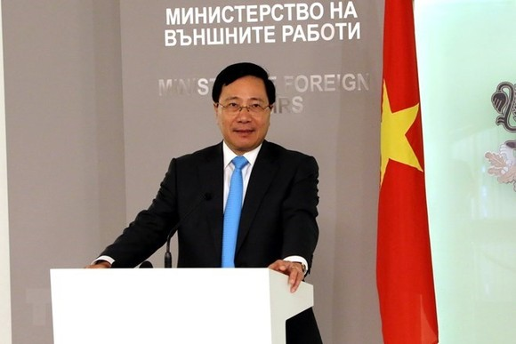 Deputy Prime Minister and Minister of Foreign Affairs Pham Binh Minh (Photo: VNA)