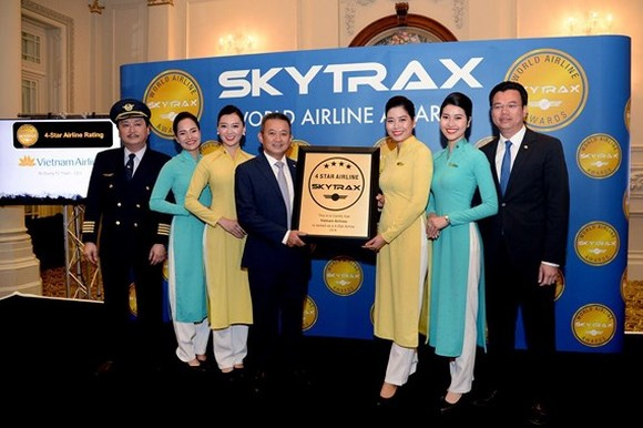Vietnam Airlines maintains Skytrax four-star rating for three consecutive years