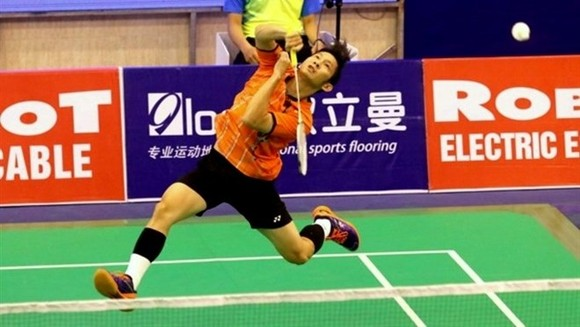 Vietnamese No 1 player Nguyen Tien Minh (Photo: baomoi.com)