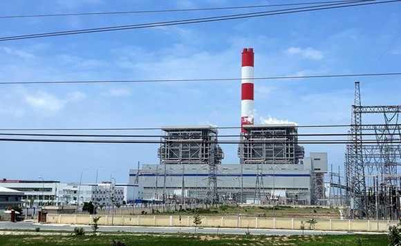 The 1,240MW Vinh Tan 1 is the first thermal power plant in Vietnam to apply the pulverised coal combustion technology. (Source: vtv.vn)