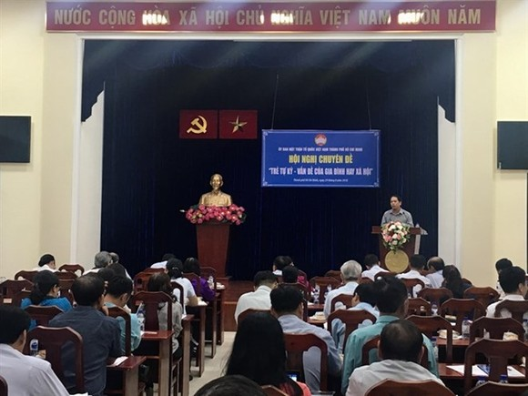 A conference on autism spectrum disorder was held in HCM City on August 29. (Source: VNA)