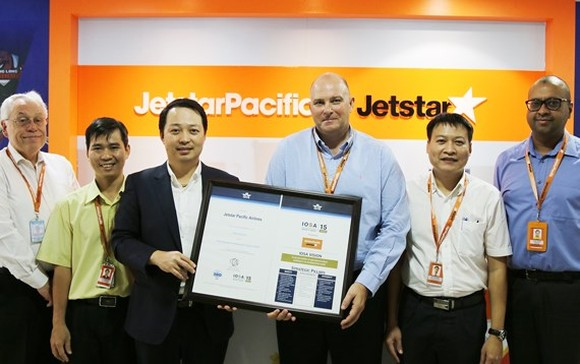 Jetstar Pacific achieves int'l operational safety audit registration
