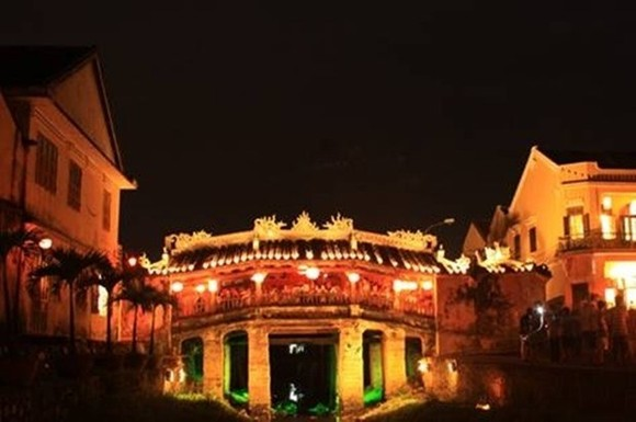 The Chua Bridge in Hoi An (Photo: VNA)
