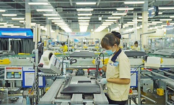 Samsung factory to produce television, located in SHTP