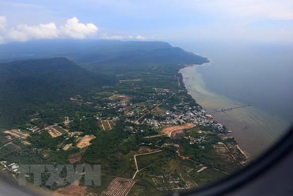 A corner of Phu Quoc Island (Photo VNA)