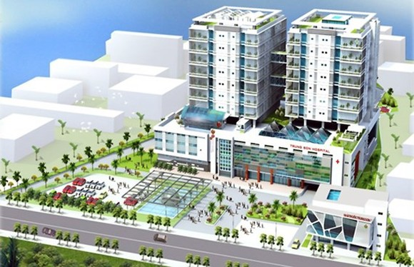 The artist impression of the new hospital (Photo: SGGP)