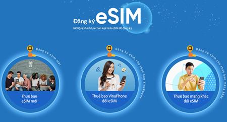 VinaPhone launches eSIM