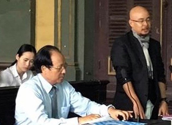 Chairman Dang Le Nguyen Vu at the court (Photo: SGGP)