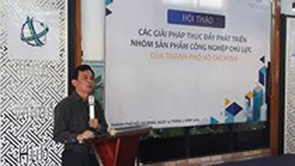 Staple industrial products in HCMC purposely promoted