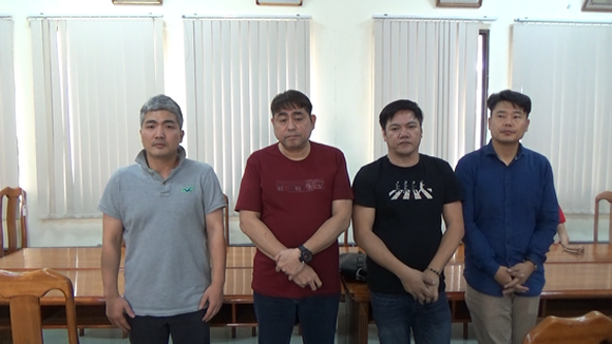These men run the illegal gambling club (Photo: SGGP)