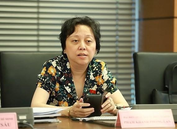 Head of the Ho Chi Minh City's Food Safety Management Board Pham Khanh Phong Lan  (Photo: SGGP)