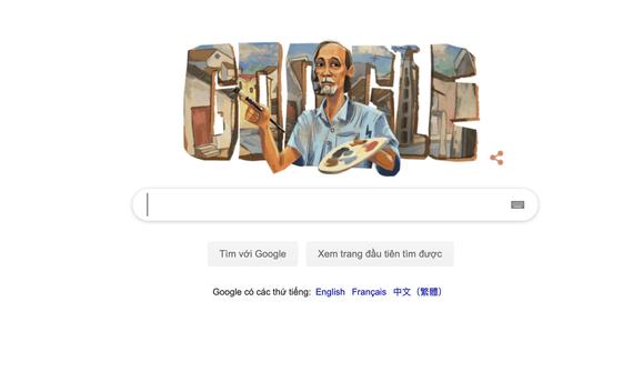 Google Doodle honors late Vietnamese painter Bui Xuan Phai