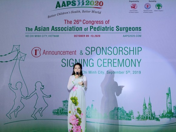 Congress of Pediatric Surgeon Association to be hosted in HCMC for first time