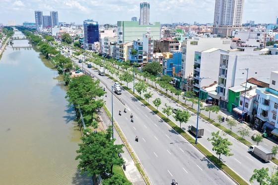 A section of Tau Hu canal (Photo: SGGP)