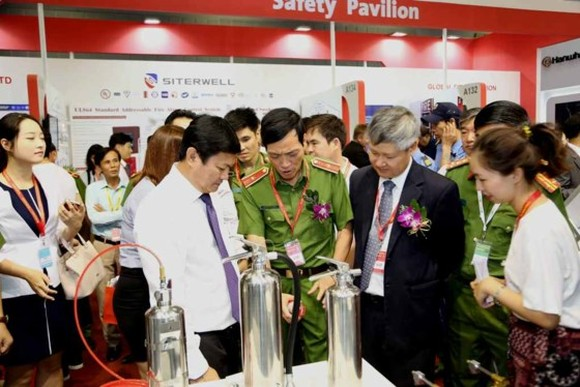 Exhibition on fire safety & rescue equipment