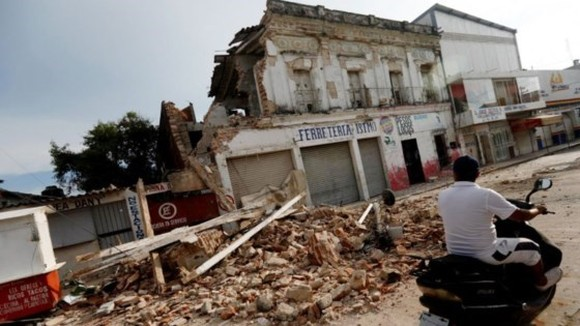 Earthquake occurs in Mexico