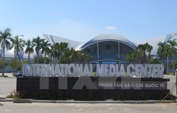 The International ​Media ​Centre is ready for the APEC High-level Week. (Photo: VNA)