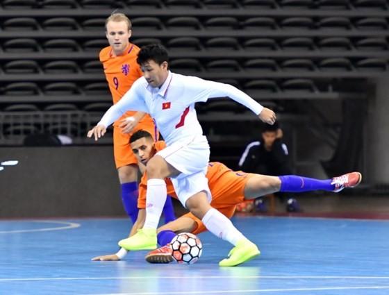 Vietnam futsal team ranks third position in CFA 2017